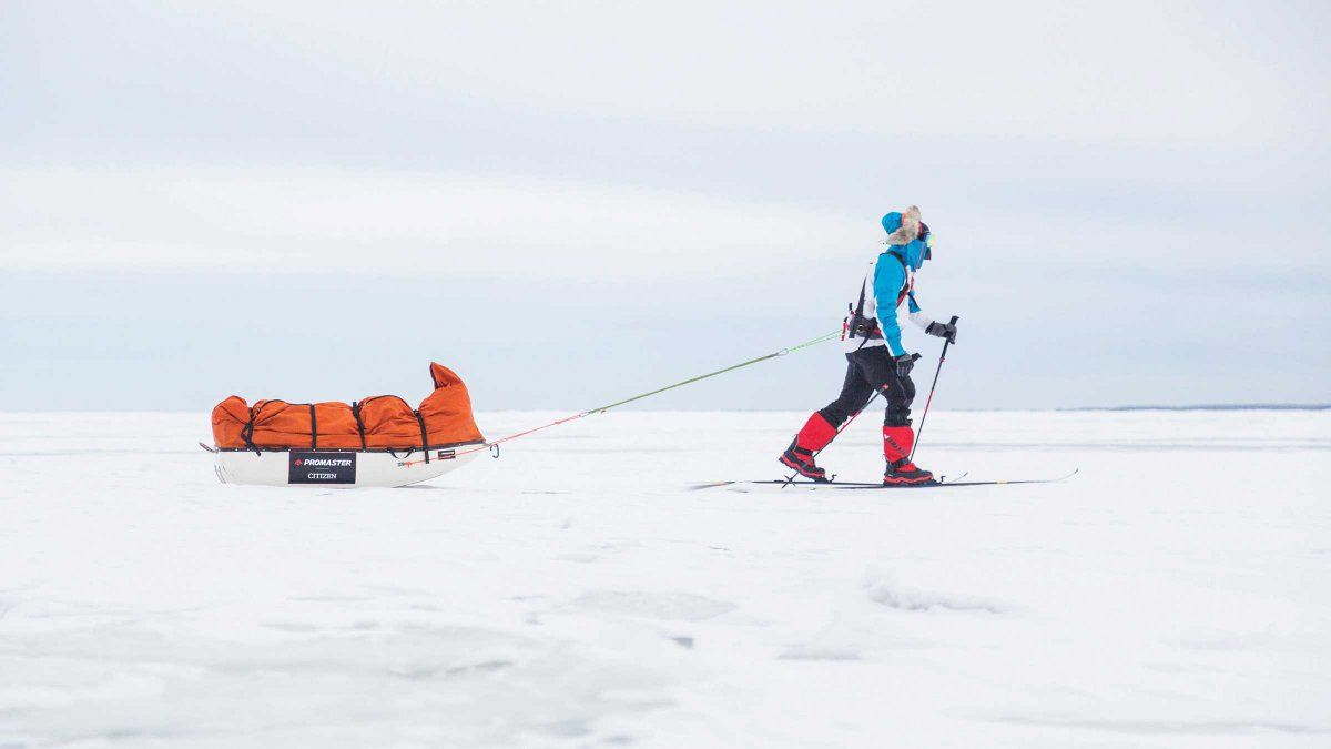 Eric Larsen's Race to the South Pole